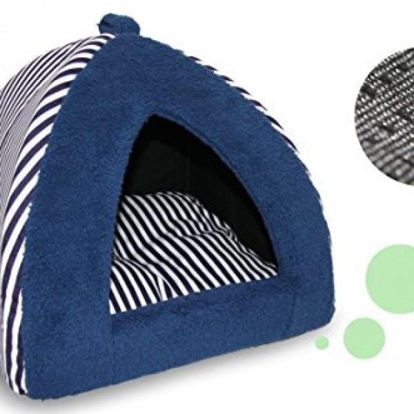Best-Pet-Supplies-BPS-Pet-Tent-for-Pets-Blue-Strip-0-1