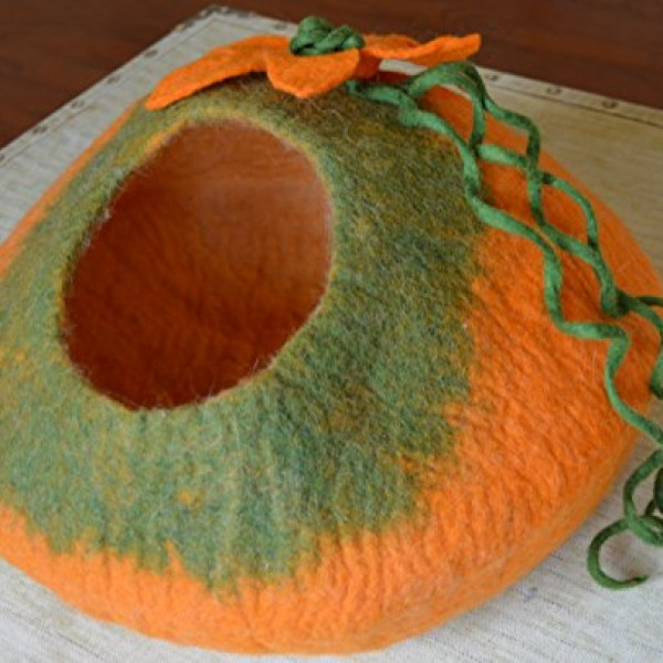 Cat-Cave-Bed-Handmade-Felted-Wool-House-for-Cats-and-Kittens-Original-Cat-Caves-By-Earthtone-Solutions-Radiant-Realm-0-0