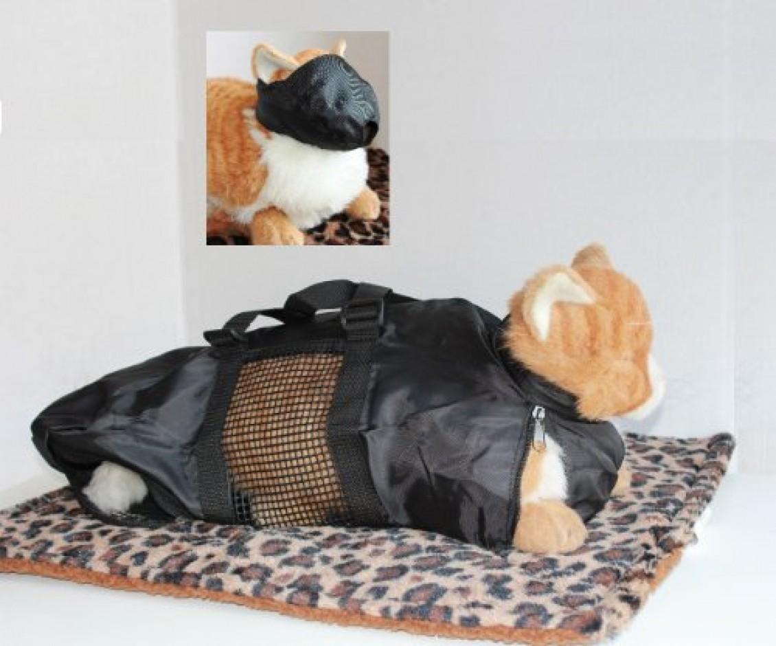 Шьём сумку для переноски кошки 53
