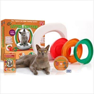 Cat Toilet Training System By Litter Kwitter Teach Your