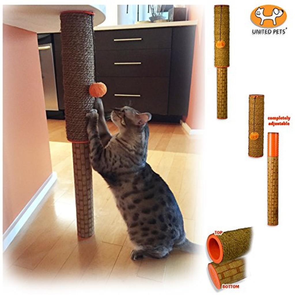 Coconut Fiber All Natural Ultimate Cat Scratching Post