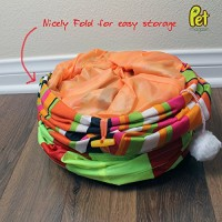 Collapsible-Cat-Tunnel-Toys-2-Pack-Pet-Tunnels-and-Tubes-With-Crinkle-Peep-Hole-Design-for-Small-Medium-Large-Cats-Dogs-and-Other-Small-House-Animals-by-Pet-Magasin-0-0