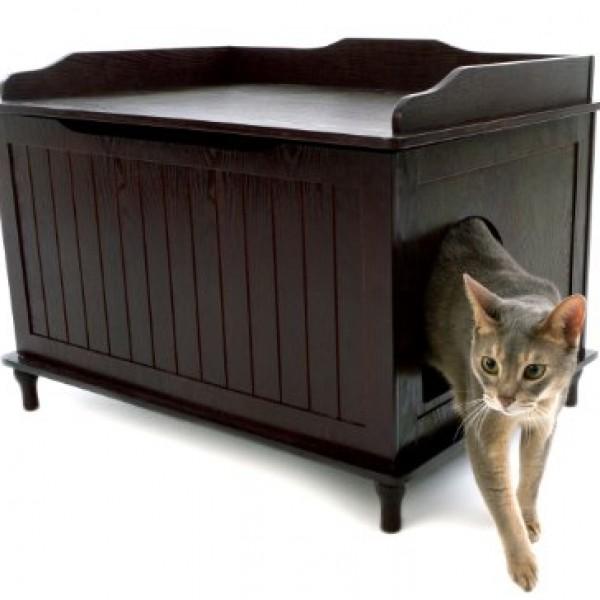 designer catbox litter box enclosure in espresso 0 catbox litter box enclosure