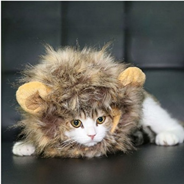 Dogloveit-Pet-Costume-Lion-Mane-Wig-for-Dog-Cat-Halloween-Dress-up-with-EarsPlease-be-aware-of-fake-products-from-other-sellers-0-2