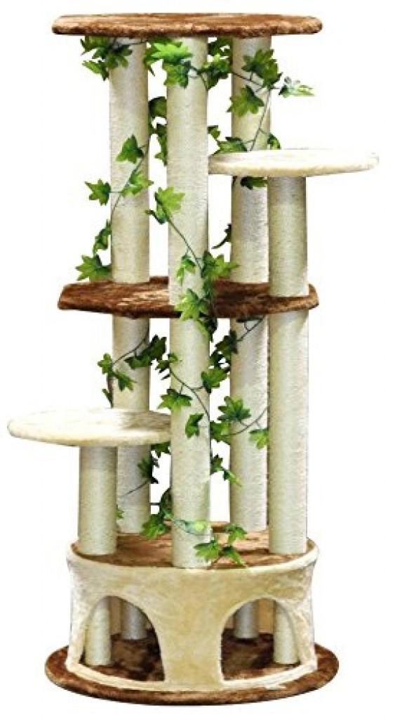 Go Pet Club Cat Tree Furniture  Inch Black Brown