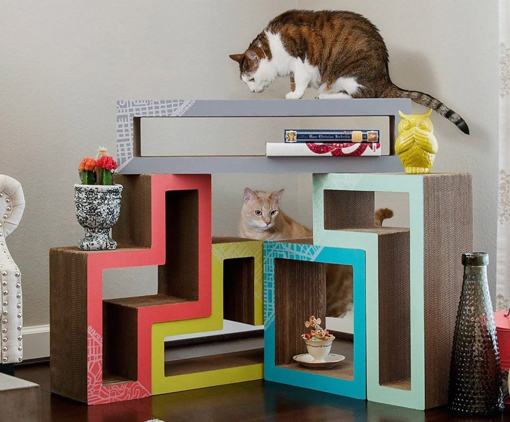 7 truly cool cat trees your kitty can t get enough of for Cool cat perches
