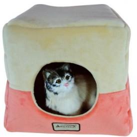 Armarkat Cat Bed, C07CCS/MH, Orange and Beige