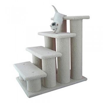 Armarkat-Pet-Steps-4-steps-B4001-Ivory-0