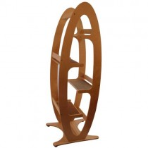 Contoure Modern Cat Tree Tower (unfinished birch) – by ContempoCat