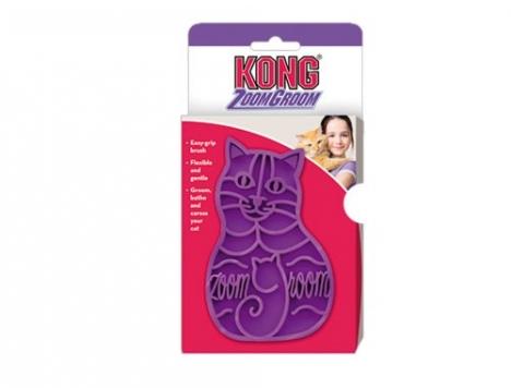 KONG-ZoomGroom-Cat-Grooming-Brush-0