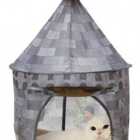 Necoichi Cat Tent (Morning Castle) Bed, Condo, Cave, House For CAT