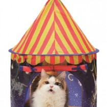 Necoichi Cat Tent (Night Carousel) Bed, Condo, Cave, House for CAT by CAT1st