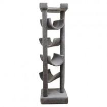 New Cat Condos Premier Solid Wood 6-foot Skyscraper Cat Tree, Beige