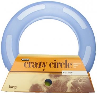 Petmate-Crazy-Circle-Interactive-Cat-Toy-Large-0