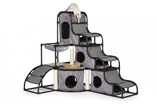 Prevue-Pet-Products-Prevue-Pet-Products-Catville-Tower-Gray-7240-Gray-0