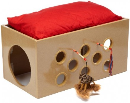 SmartCat-Bootsies-Bunk-Bed-and-Playroom-for-Cats-0