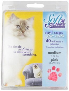 Soft-Claws-for-Cats-CLS-Cleat-Lock-System-Size-Medium-Color-Pink-0