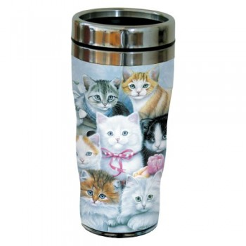Tree-Free-Greetings-77031-Cuddly-Kittens-Collectible-Art-Sip-N-Go-Travel-Tumbler-16-Ounce-Stainless-Steel-Multicolored-0