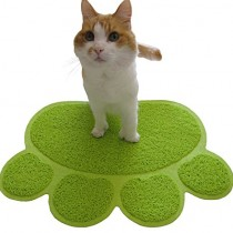 Two Meows Litter Mat – Green